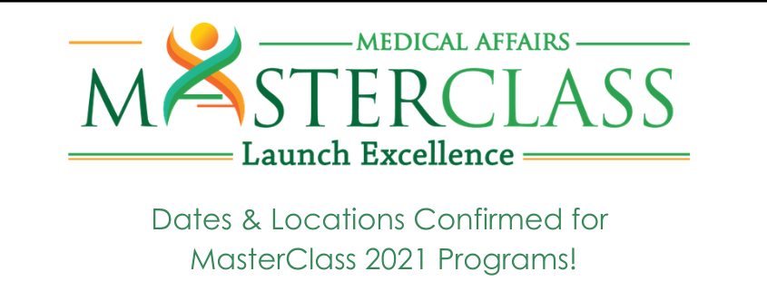 Medical Affairs Launch Excellence MasterClass 2021 training