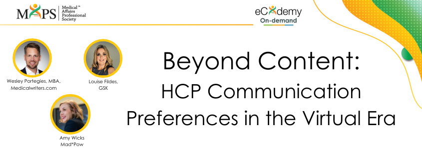 Beyond Content: HCP Communication Preferences in the Virtual Era
