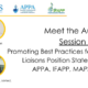 Meet the Authors - Promoting Best Practices for Medical Science Liaisons Position Statement from the APPA, IFAPP, MAPS and MSLS