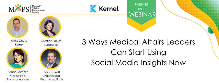 3 Ways Medical Affairs Leaders can Start Using Social Media Insights Now