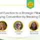 Support Function to Strategic Pillar Webinar