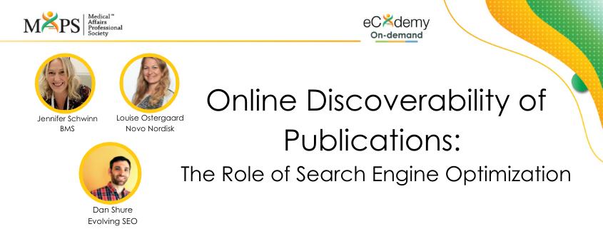 publications discoverability SEO
