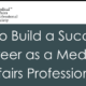 Medical Affairs Career