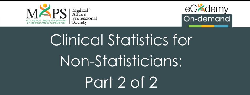 Clinical Statistics 1