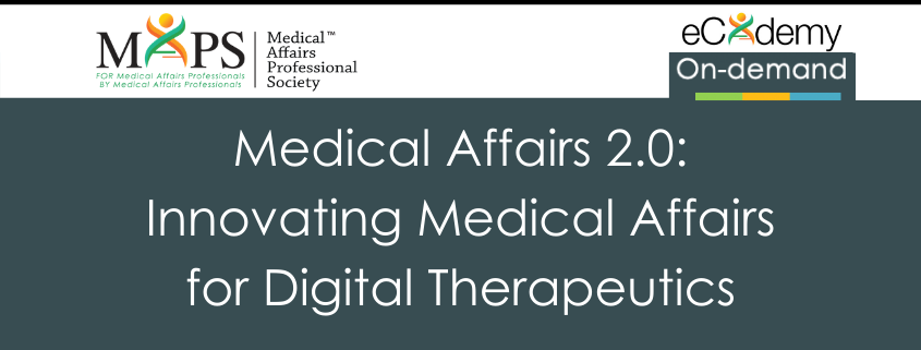 Medical Affairs Digital Therapeutics