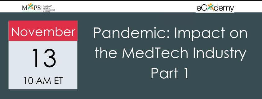 Pandemic MedTech Webinar 1
