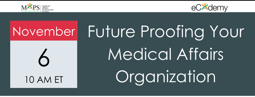 Future Proofing Medical Affairs Webinar