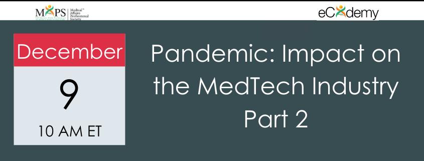 MedTech Pandemic 2