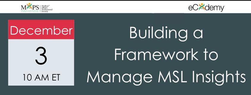 Framework MSL Insights