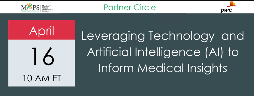 Artificial Intelligence Medical Affairs Webinar