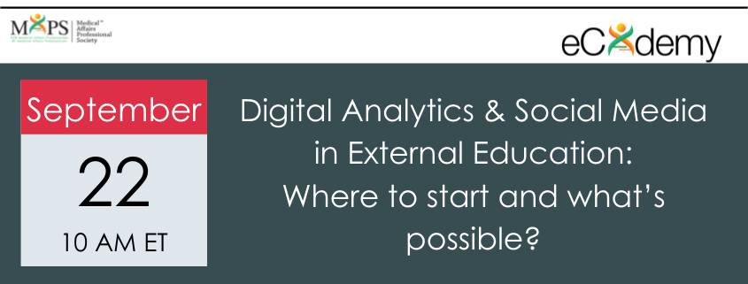 Digital Analytics and Social Media in External Education – Where to start and what's possible?